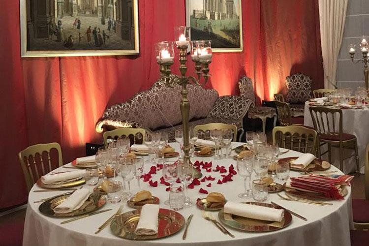 cena di gala - Reggia di Venaria