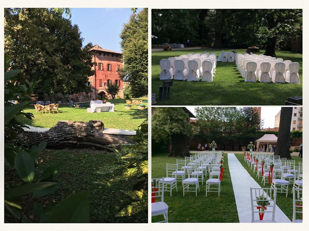 Matrimonio al Castello Malabaila - Catering BON TON Pietrini