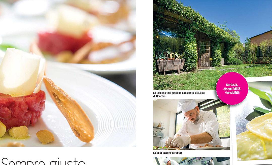Catering Bon Ton Pietrini su Torino Magazine