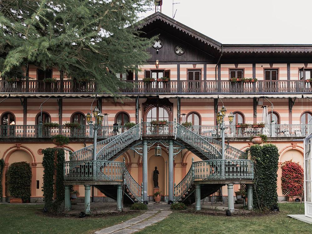 location: villa franchetti Viù