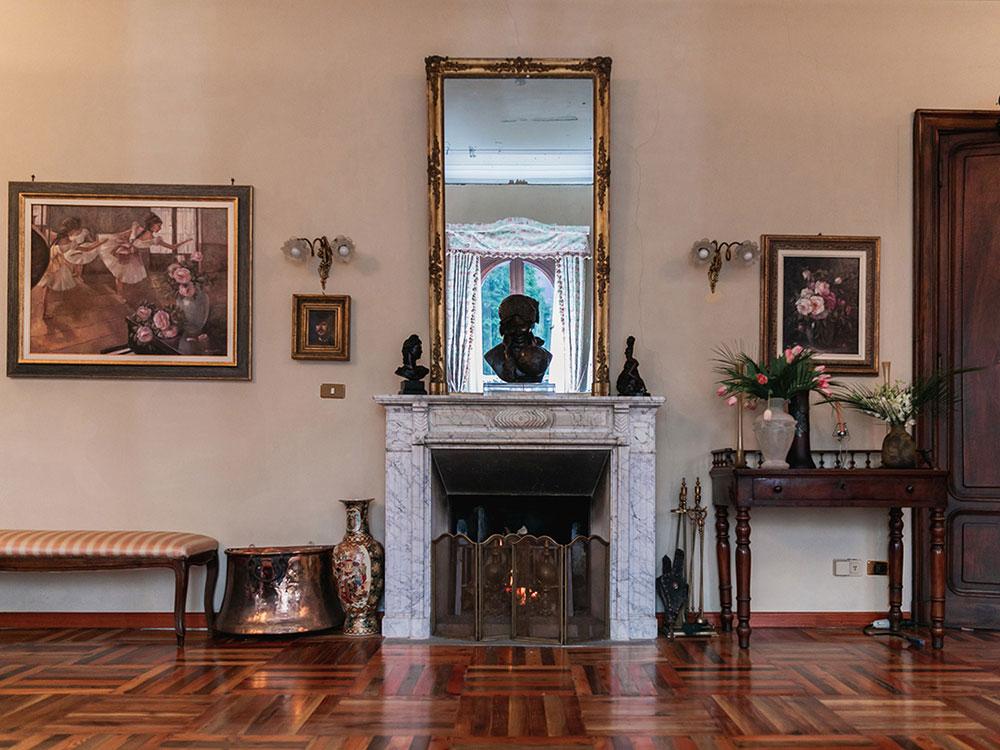 villa franchetti interni location