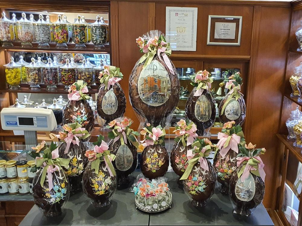 Uova Pasqua Cioccolato - Pasticceria Bon Ton Pietrini
