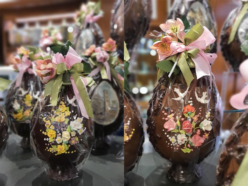 Pasticceria - Uova al Cioccolato - Bon Ton Pietrini Susa