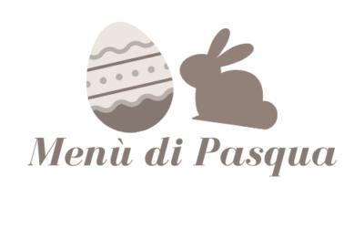 Menù Pasqua 2020