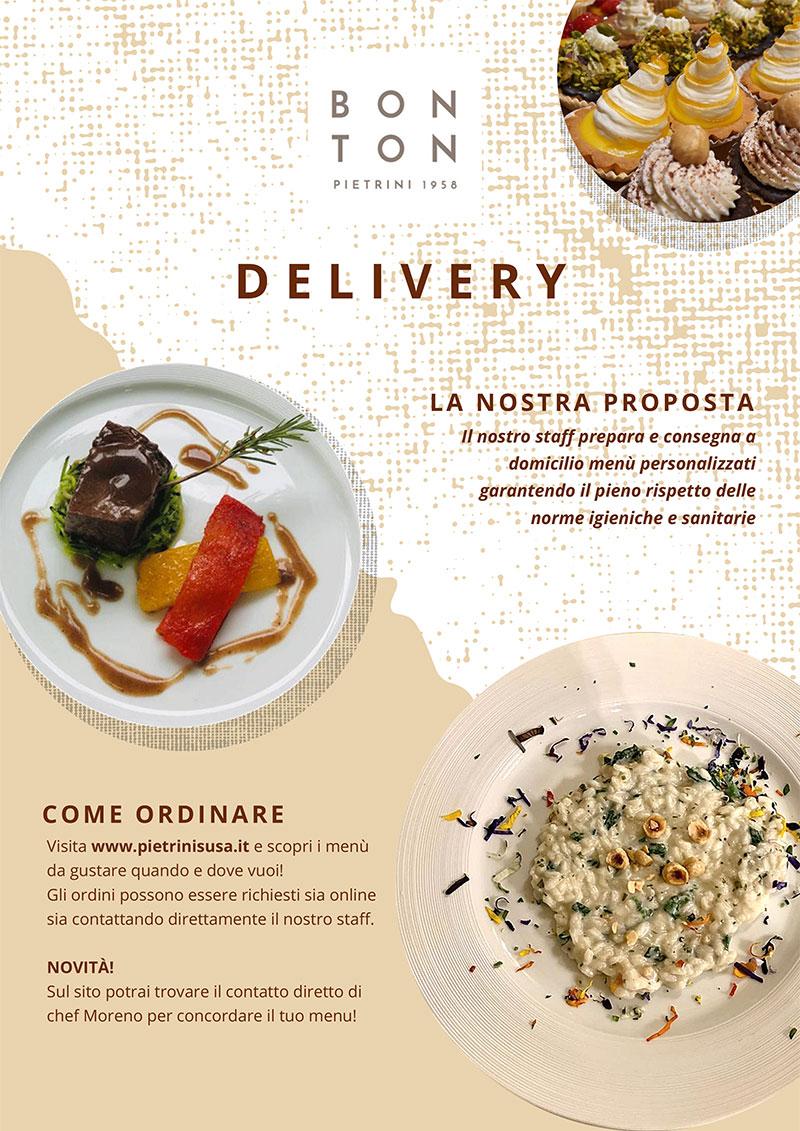 Delivery food consegna a domicilio - BON TON di PIETRINI
